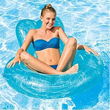 JYY Flotador Gigante Inflable Piscina Anillo Tubo Flotador Fun Kids Swim Party Toy Summer Lounge Raft para Adultos Y Adolescentes,Blue: Amazon.es: Hogar