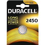 Duracell CR2450 - Juego de 2 pilas de botón, litio, 3 V, incluye embalaje