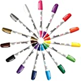 Sharpie KIT-PNTMKR-15-MD Paint Marker Medium Point Oil Based All 15 Color Set