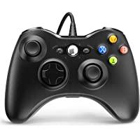 Controle de jogos com fio Xbox 360, YAEYE USB com controle de gamepad para Microsoft Xbox 360, PC Windows 7,8,10 com…