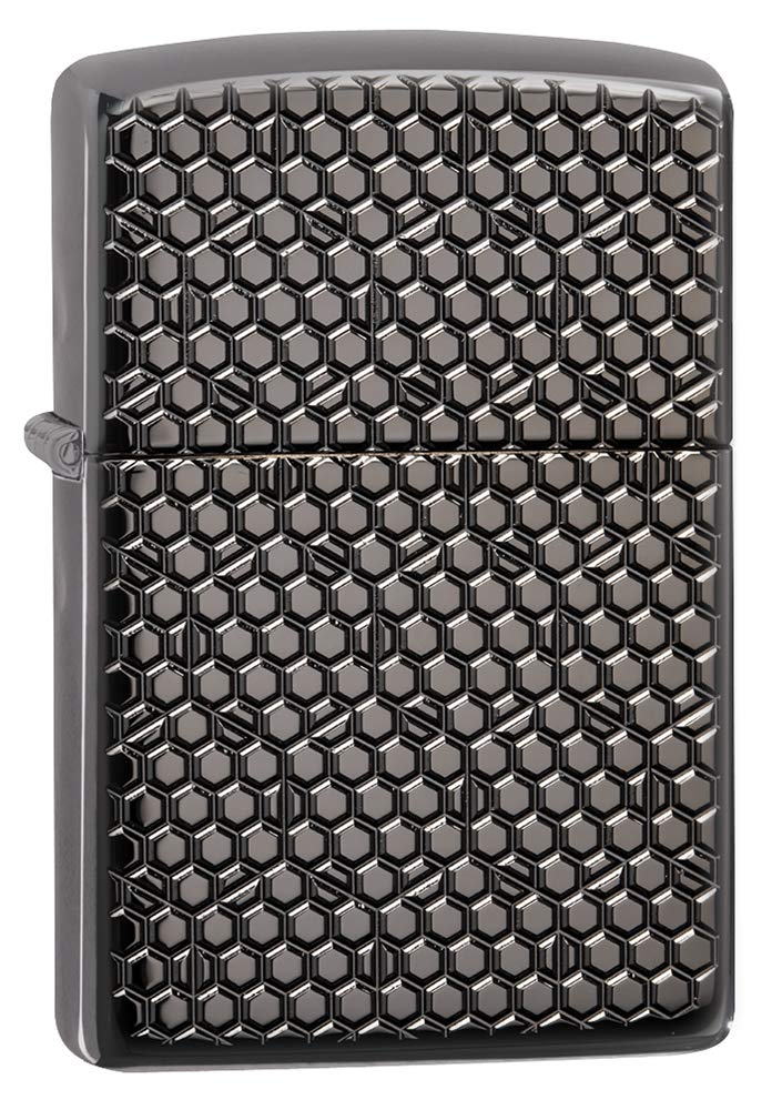 Zippo Hexagon Design Pocket Lighter