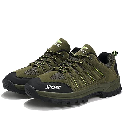 Men's Waterproof Backpacking Shoes Non-slip Hiking Shoes Caravan Shoes