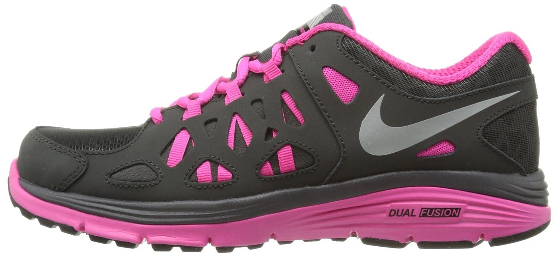 dcc453eb71c9 Amazon.com  Nike Dual Fusion Run 2 Shield Gradeschool Kid s Shoes Size 7   Shoes