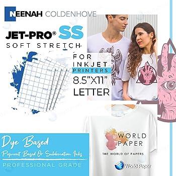 Jet-Pro Ss Jetpro Sofstretch Heat Transfer Paper