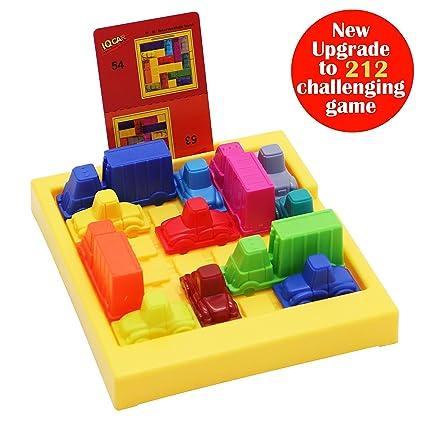 amazon com maggift traffic jam logic game iq car parking puzzle toy