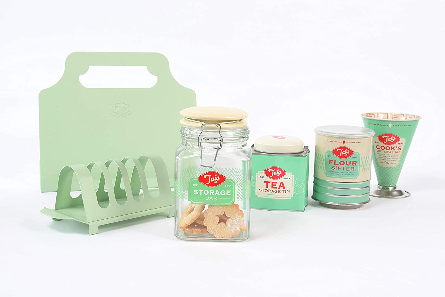 Red Tala 10B01518 Cooks Measure with New Ingredients Green