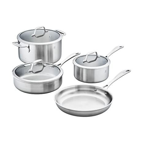 Amazon.com: Zwilling SPIRIT 3-Ply 7-Pc Acero Inoxidable ...
