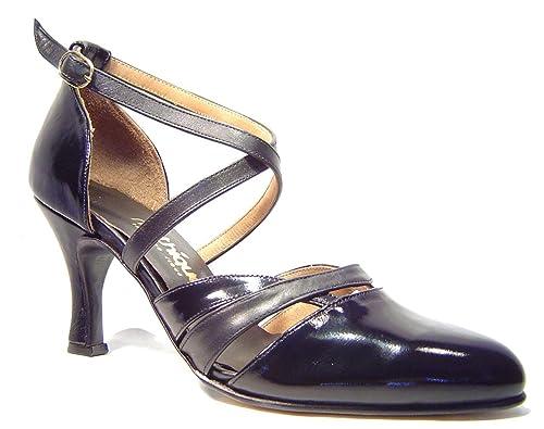 Zapatos De Tango Para Dama Salsa Latino Baile Mujer - Mythique - Pitonisa - Talla 42: Amazon.es: Zapatos y complementos