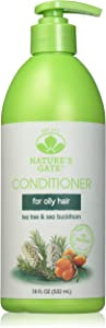 Tea Tree Calming Conditioner Nature's Gate 18 oz Liquid