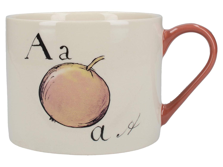Nonsense Collectible 'm V Mug amp;a Ceramic Printed Alphabet With WEHIYD29