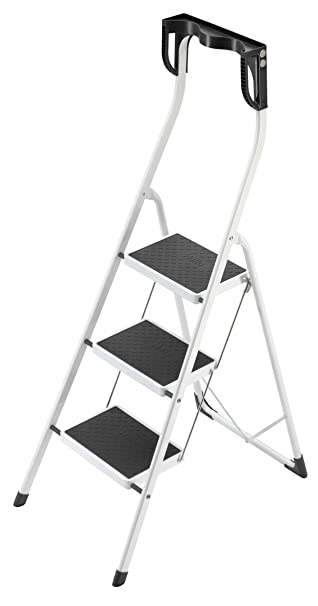 Hailo 4343-001 Safety Plus 330-Pound Capacity Step Stool 3-Step  sc 1 st  Amazon.com & Hailo 4343-001 Safety Plus 330-Pound Capacity Step Stool 3-Step ... islam-shia.org