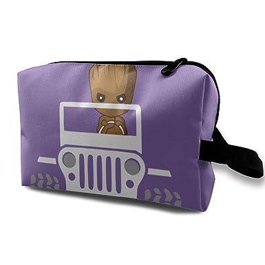 Amazon.com: Bolsa de maquillaje con cremallera para bebé ...