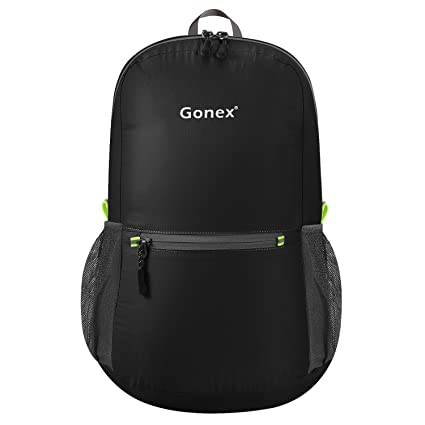 Gonex Ultralight Handy Travel Backpack,Water Resistant Packable Backpack  Daypack Lightweight Foldable Camping Outdoor Travel Cycling School  Backpacking 20 ... 3e1cf9d986