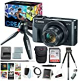 Canon PowerShot G7 X Mark II Digital Camera Video Kit + Corel Software + Bundle