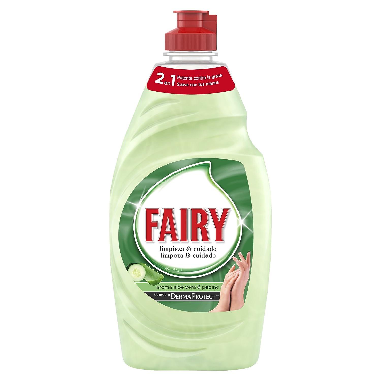 Fairy Limpieza & Cuidado Aloe Vera & Pepino Líquido Lavavajillas - 1 Botella