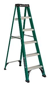 Louisville Ladder FS4006, 6-Foot, Green