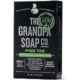 Grandpa's Pine Tar Bar Soap -- 3.25 oz