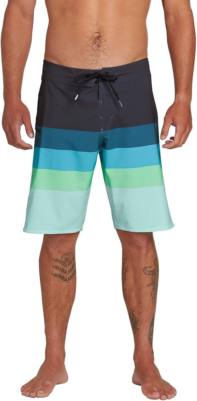 Volcom Mens Lido Liney Mod Stretch 21 Boardshort