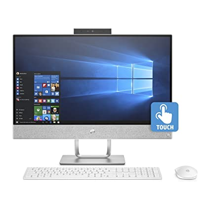 HP Pavilion 24 Desktop 256GB SSD + 5TB HD WIN 10 PRO (Intel Core i5-8400T processor with TURBO BOOST to 3.30GHz, 16 GB RAM, 256GB SSD 5TB HD, ...