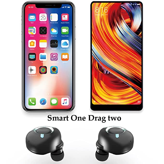 Auriculares Deportivos Bluetooth, Caja De Almacenamiento Recargable, Mini Auricular Bluetooth Para Negocios, Auriculares Bluetooth Sigilosos, ...
