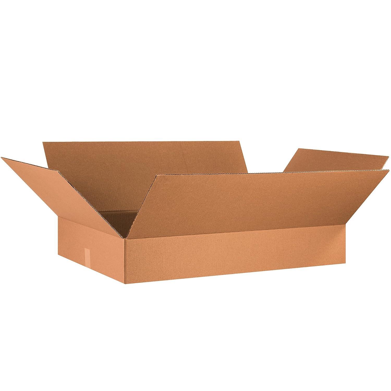 10L x 9W x 4H Kraft Pack of 25 Partners Brand P1094 Flat Corrugated Boxes