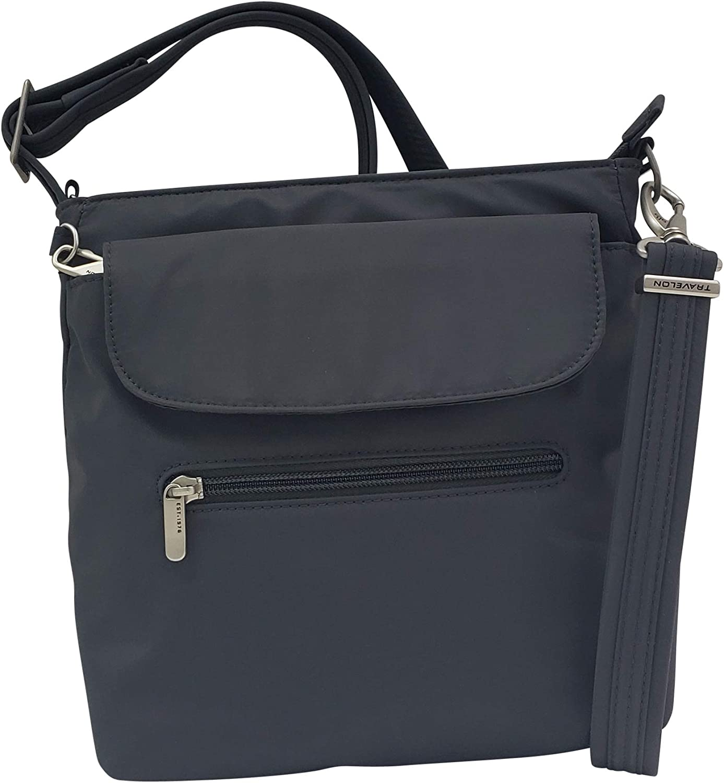 Travelon Anti-Theft Classic Mini Shoulder Bag (One Size, Graphite)