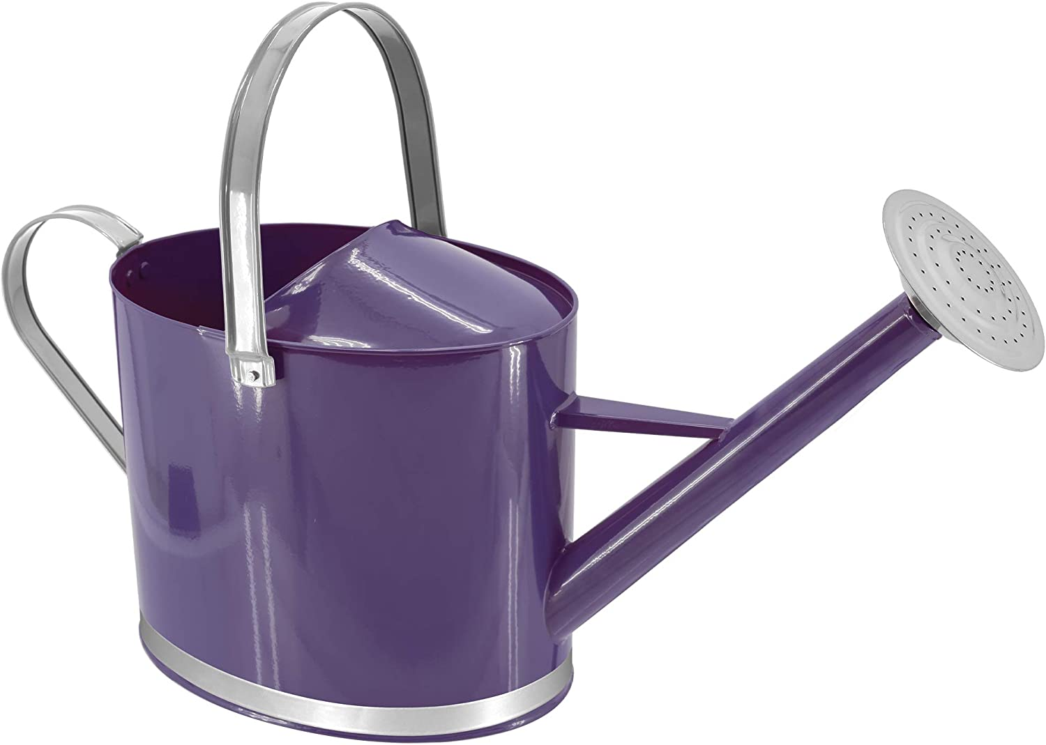 Arcadia Garden Products WC18 Chic Watering Can, Purple