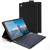 Jelly Comb Funda con Teclado Español para Lenovo M10 FHD Plus(2.a generación), Teclado Desmontable, Retroiluminado 7…
