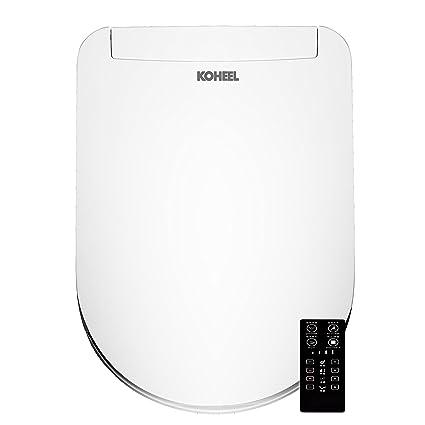 KOHEEL - Asiento de inodoro con función de control remoto integrada, tecnología de ahorro de