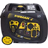 Firman Power Equipment W03083 3300 Watt CARB Gasoline Inverter Generator with Electric and Remote Start