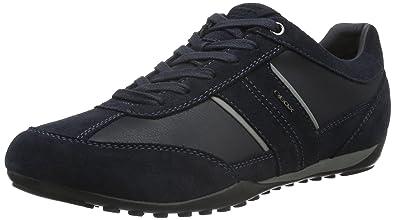 Herren U Wells C Sneakers, Blau (NAVYC4002), 46 EU Geox