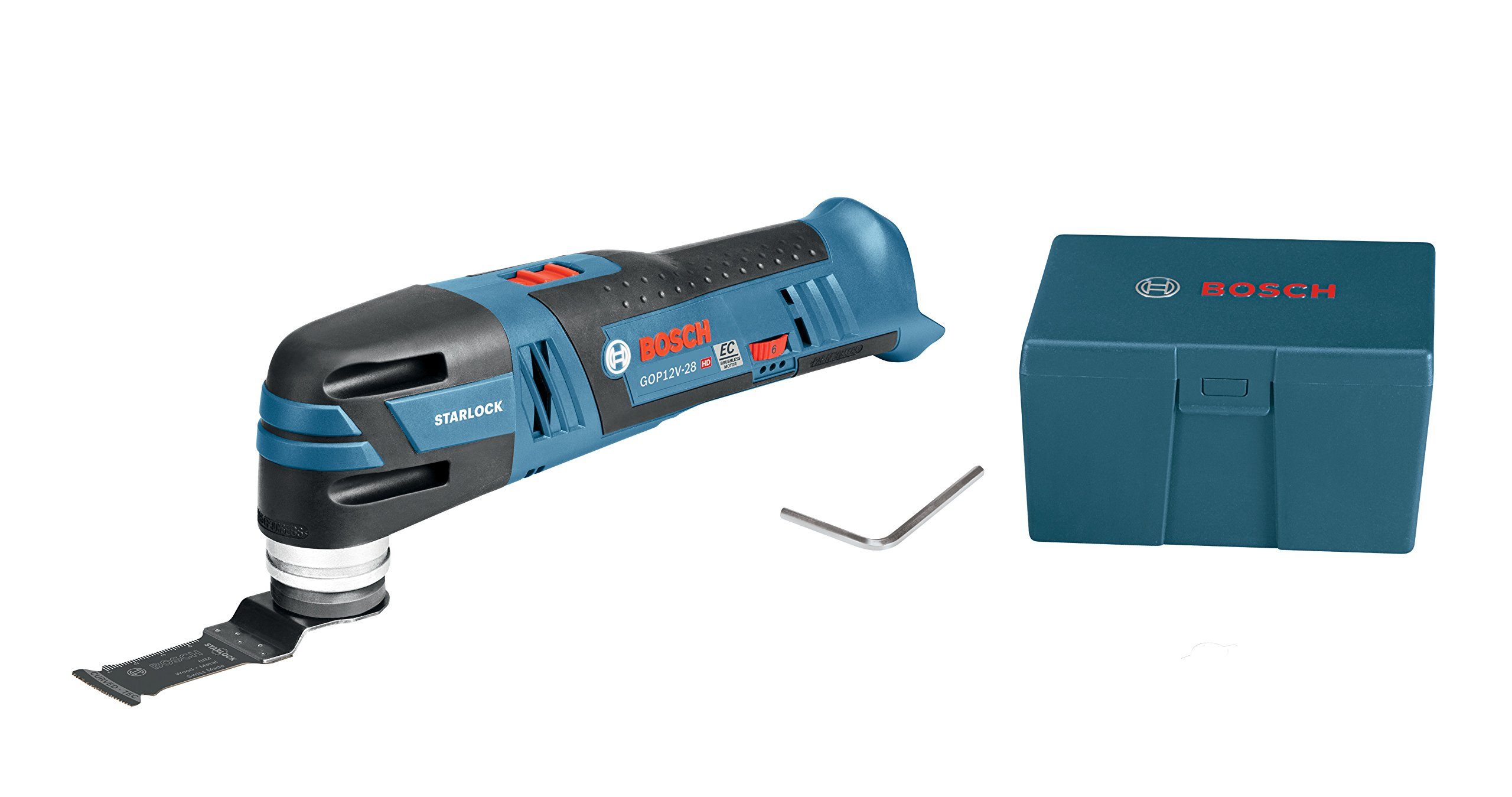 Bosch 12V Max EC Brushless Starlock Oscillating Multi-Tool Bare Tool GOP12V-28N