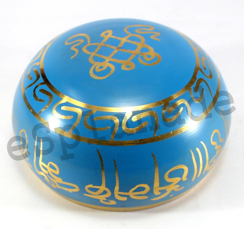 Singing Bowl Tibetan Buddhist Prayer Instrument With Striker Stick OM Bell eSplanade 5 inches OM Bowl Music Therapy Meditation Bowl