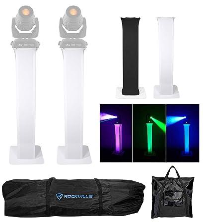 Amazon.com: 2 soportes de tallo + eslabones negros + blancos ...