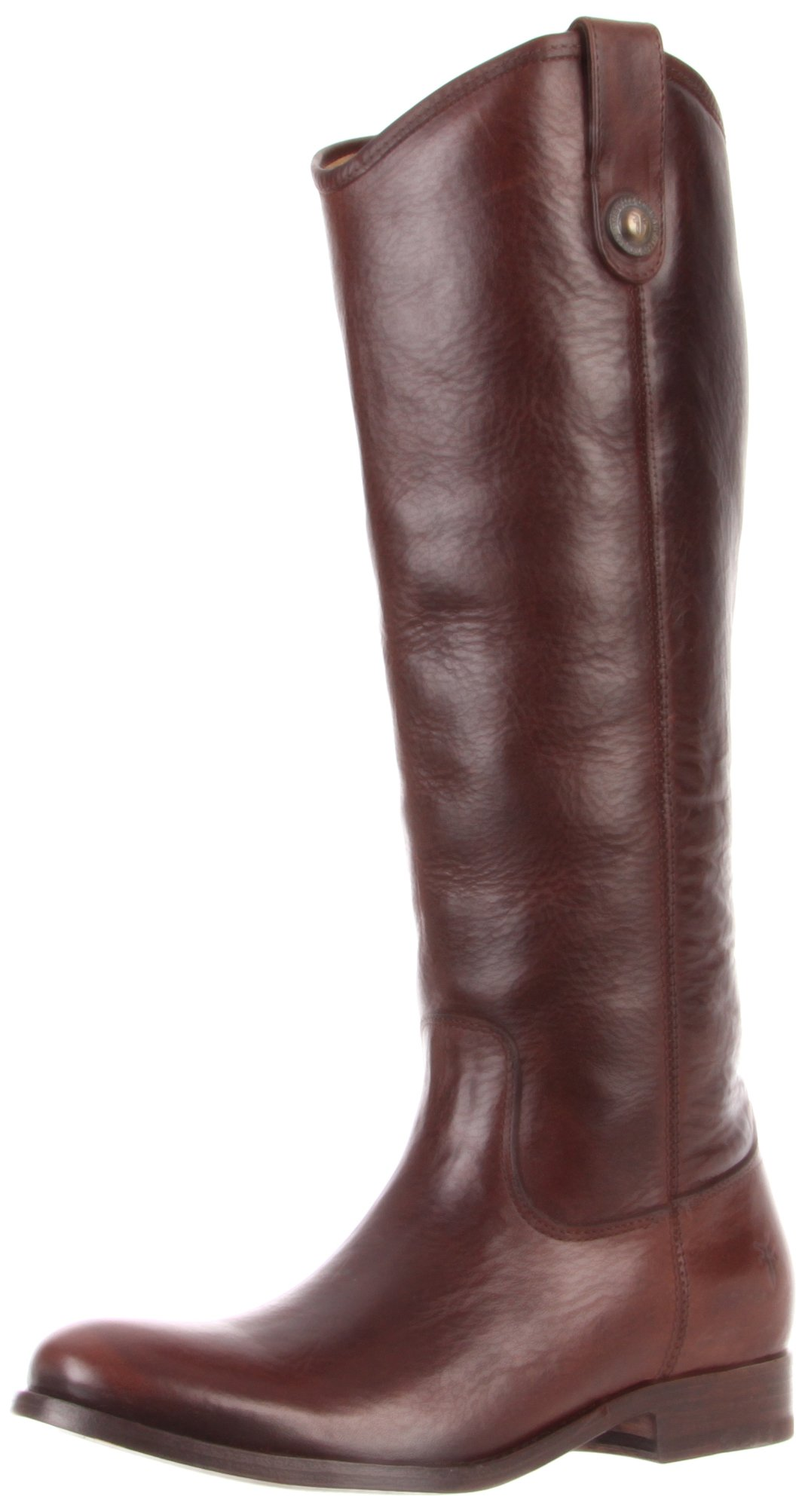 FRYE Women's Melissa Button Boot, Dark Brown Soft Vintage Leather, 6 M US by FRYE