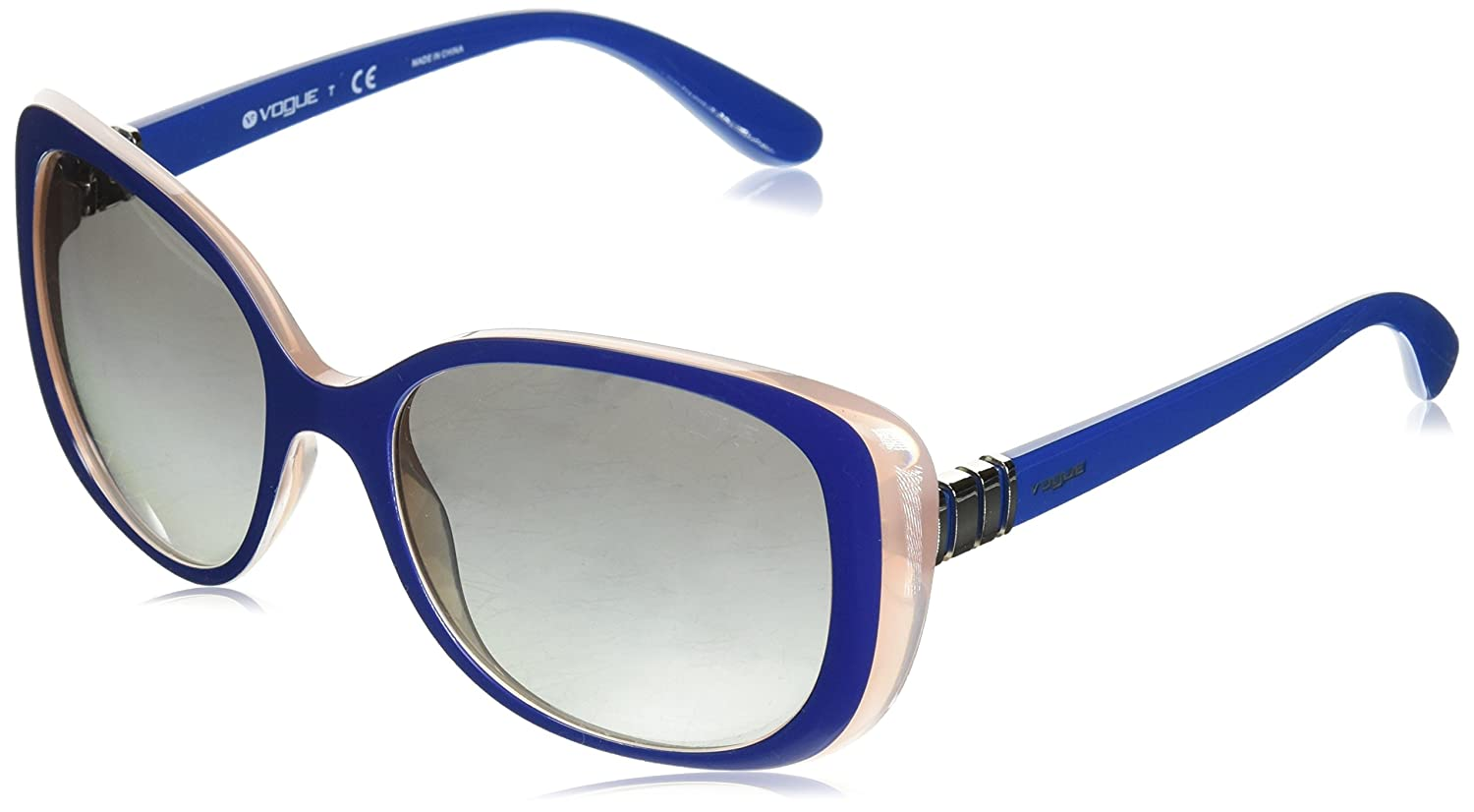 Vogue 0Vo5155S, Gafas de Sol para Mujer, Multicolor (Top Dark Blue/Pink), 55