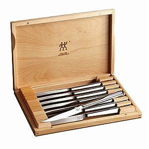 ZWILLING J.A. Henckels 39130-850 ZWILLING Accessories Steak Knife Set Stainless Steel