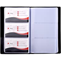 Amazon best sellers best business card holders maxgear business card book holder journal business card organizer professional pu leather name card colourmoves