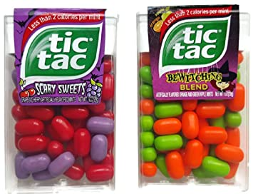 Tic Tac Halloween Bundle Of Two Different Candy Mints 1 Bewitching Blend And