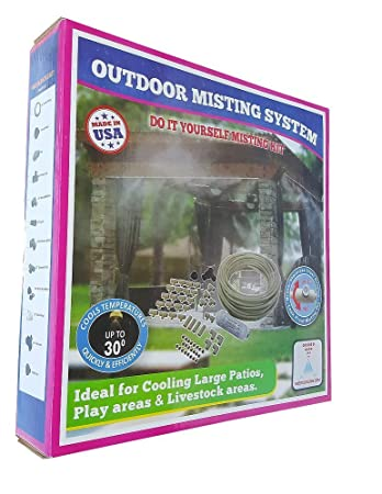 Amazon patio misting system retail box misting system patio misting system retail box misting system customize and build your own misting system solutioingenieria Choice Image