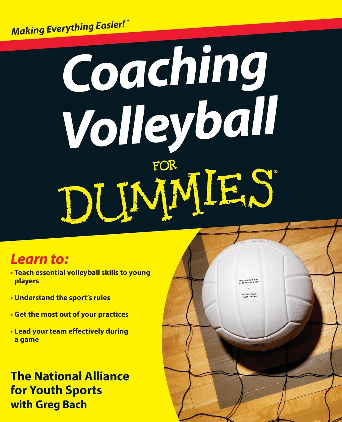 Coaching Volleyball For Dummies: The National Alliance For Youth Sports:  9780470464694: Amazon.com: Books