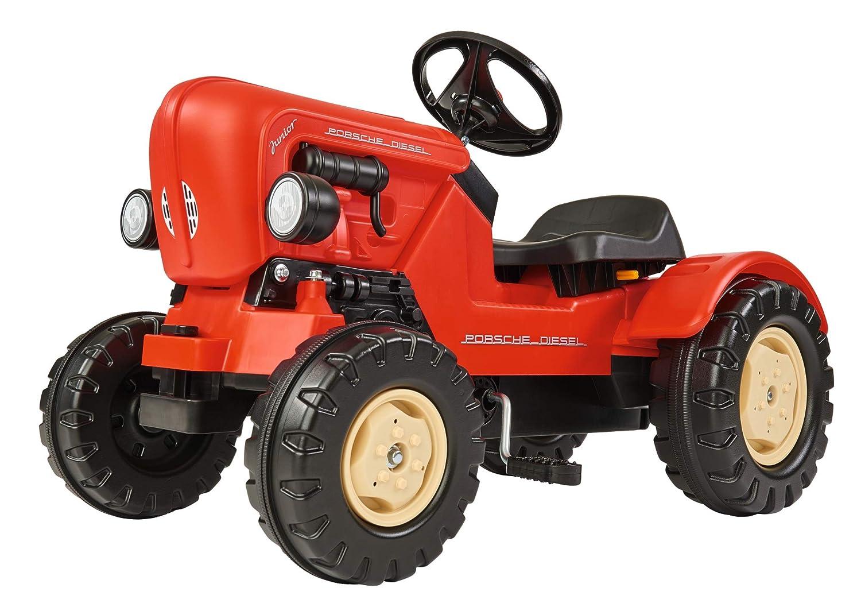 Trettraktor Mädchen - BIG Porsche Traktor