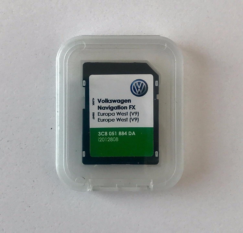 ÚLTIMA VW RNS 310 FX NAVEGACIÓN TARJETA SD V9 EUROPA OCCIDENTAL ...