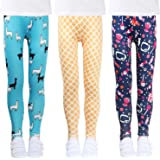 LUOUSE Girls Stretch Leggings Tights Kids Pants...