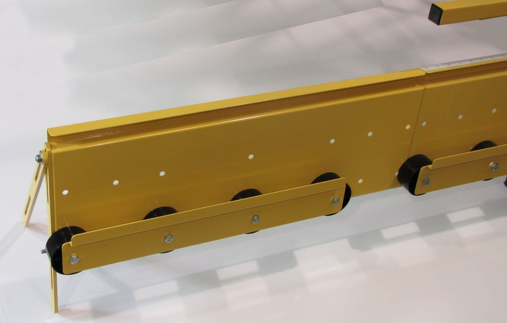 Saw Trax - Steel Covered Roller Extension Accessory for Saw Trax Panel Saws