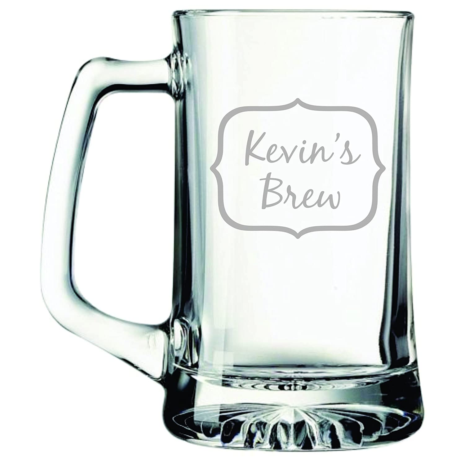 Large 25 oz. Personalized Brew Beer Mug with Name