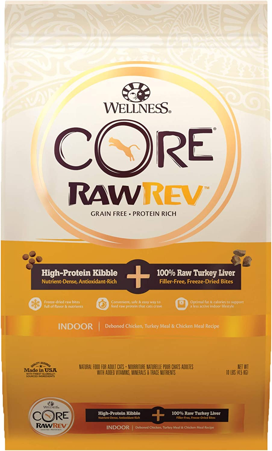 Wellness CORE RawRev Turkey Liver Dry Cat Food
