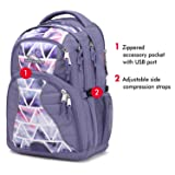 High Sierra Swerve Laptop Backpack, 17-inch Laptop