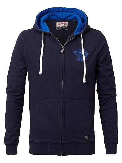 Sweatshirtjacke Sport ID Branded, Kapuze, für Jungen
