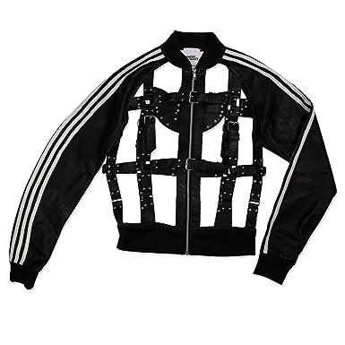 Jeremy Scott Pour Adidas Jacken aus Leder Rot Größe 0
